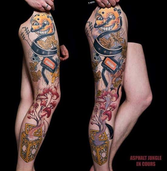 150 Best Leg Tattoos Men Women Ultimate Guide January 2019