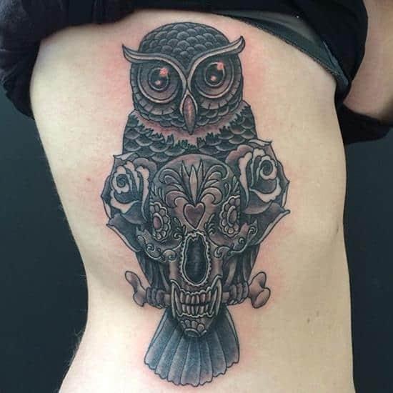 11-Owl-and-bear-skull1