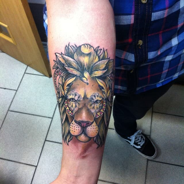 150 Realistic Lion Tattoos And Meanings (February 2018)