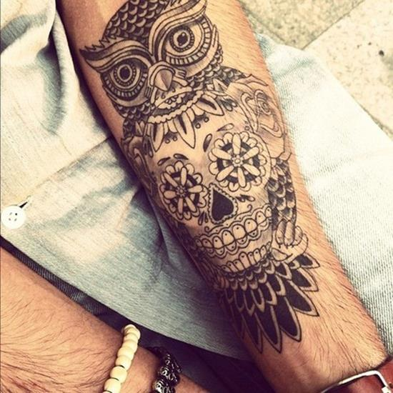 15-Owl-Skull-Tattoo1