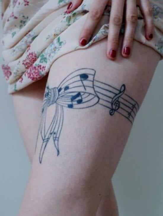 16-Music-leg-tattoo
