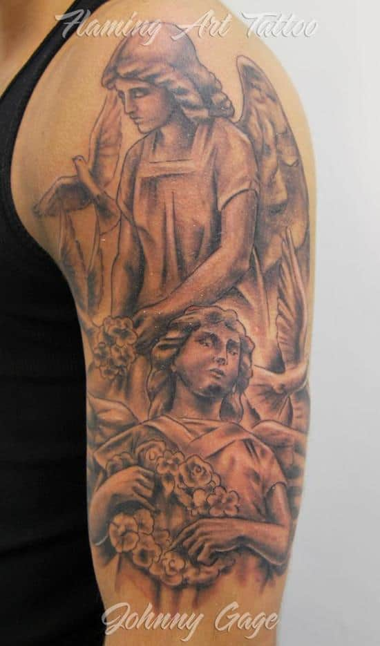 100 Best Angel Tattoos For Men And Women