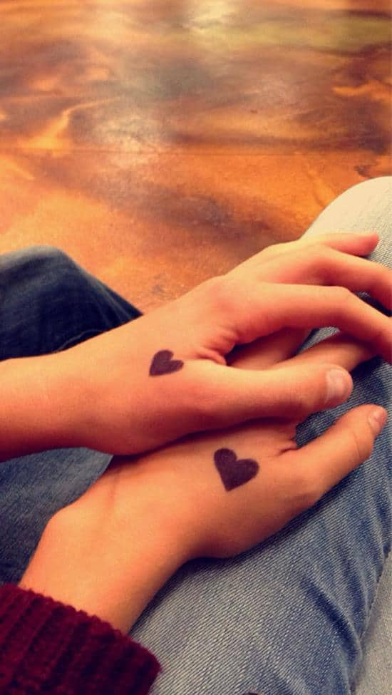2-heart-matching-tattoos