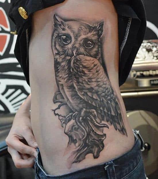 24-Owl-Tattoo-on-Side1