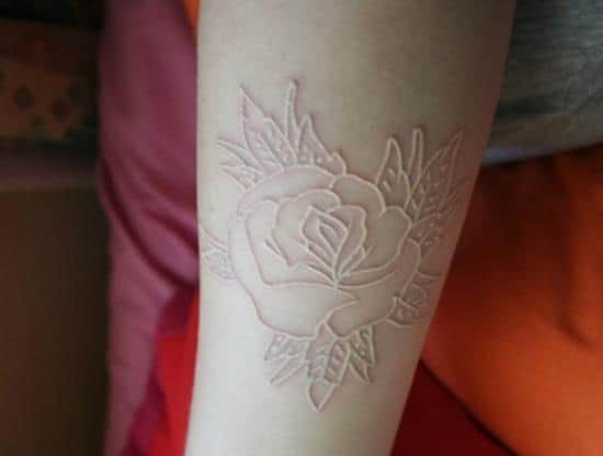 25-White-ink-rose-tattoo