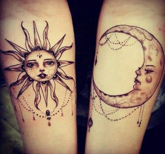 26-Sun-and-Moon-Matching-Tattoos