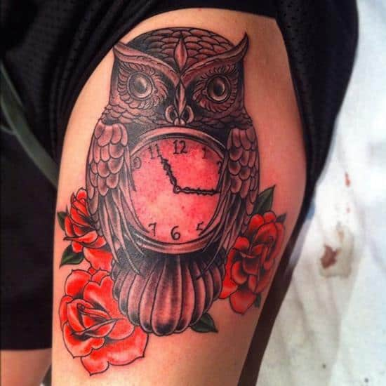 36-owl-pocket-watch-tattoo1