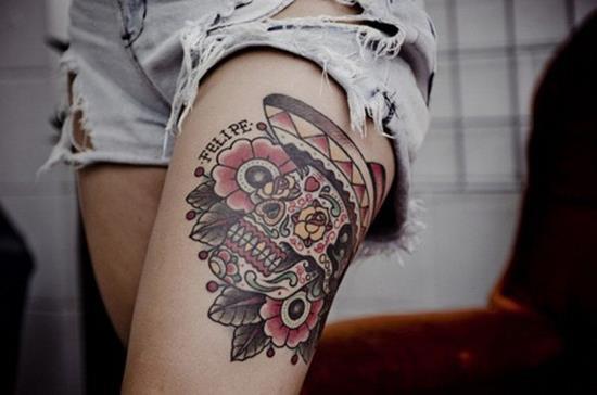 36-skull-leg-tattoo