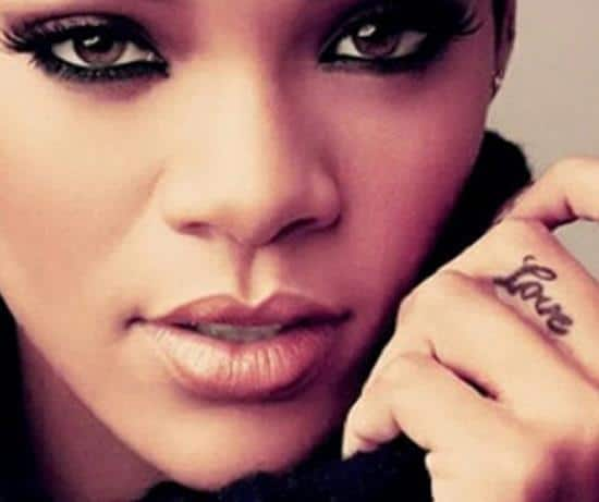 39-Rihanna-Love-Finger-Tattoo