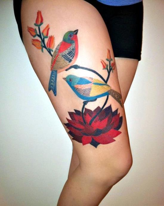 41-beautiful-illustration-leg-tattoo