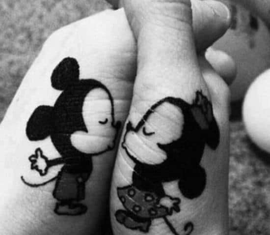 47-Mickey-Minnie-Matching-Tattoos