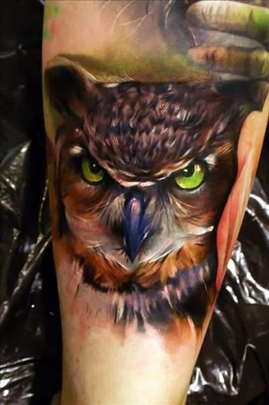 48-3D-Owl-Tattoo-for-Men1