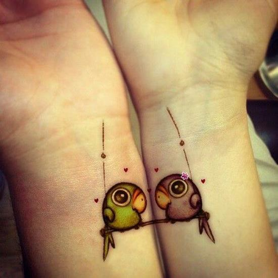 48-cute-matching-tattoo-ideas