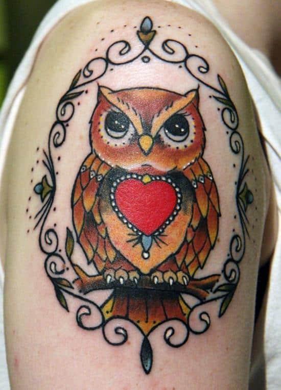 55-Owl-Tattoo