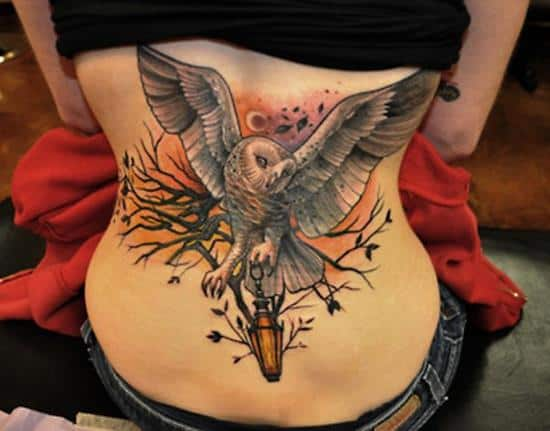 8-Owl-tattoo-on-back1