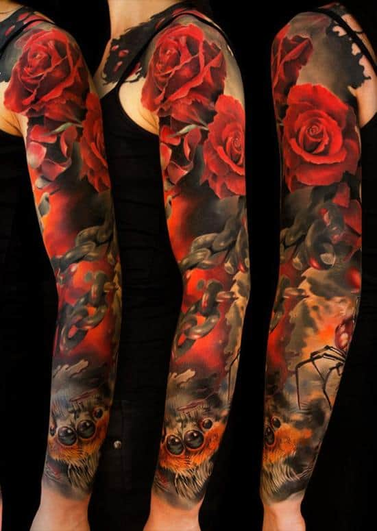 9-full-sleeve-tattoo