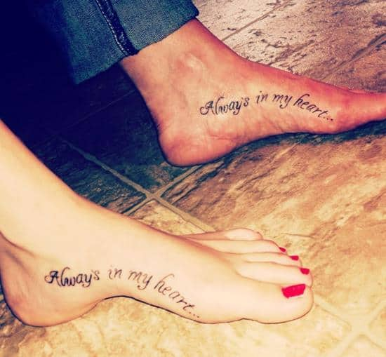 Mom And Daughter Tattoo Quotes With Meaning. QuotesGram