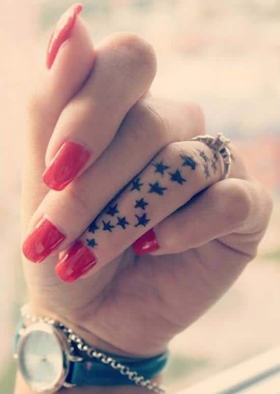 Cool-small-star-tattoo-designs-Finger-tattoo-ideas