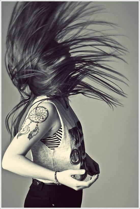 dreamcatcher tattoo idea