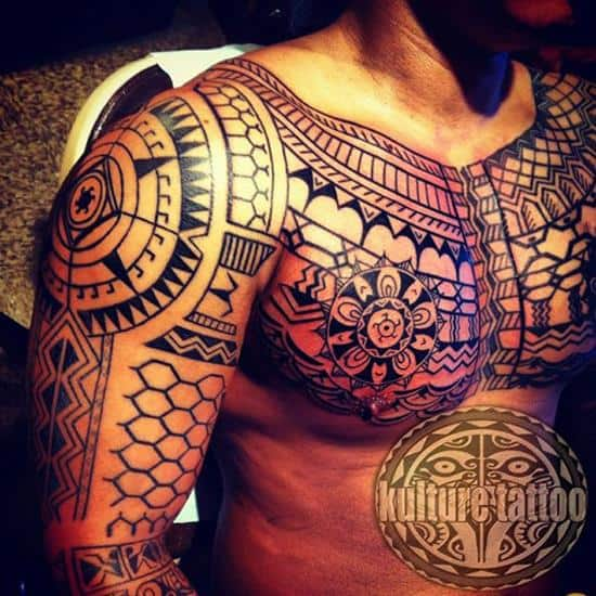 Filipino-Kalinga-Tattoo-Freehand