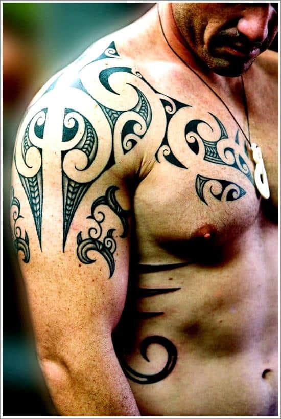 Maori Tribal Tattoo Designs Chest: 150 Maori Tattoos, Meanings & History (Ultimate Guide