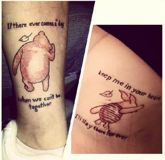 150 Adorable Mother Daughter Tattoos Ideas [2017 Collection] - Part 3