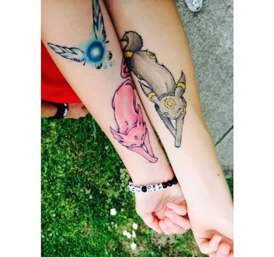 100 Brother Sister Tattoo Ideas: 100 Expressive Best Friend Tattoos (BFF) [2016 Collection