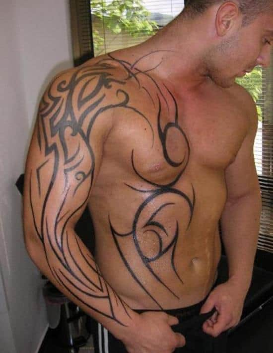 cool-tribal-tattoo