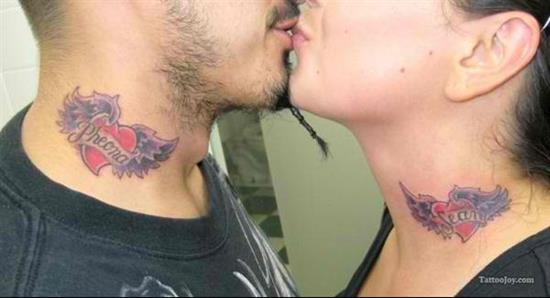 couples-tattoos-winged-heart