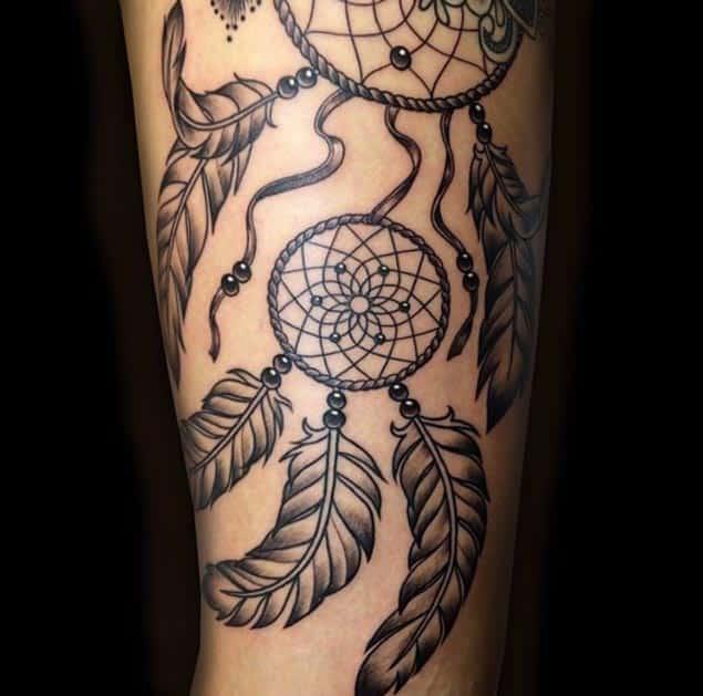 Intricate Dreamcatcher Tattoo Design