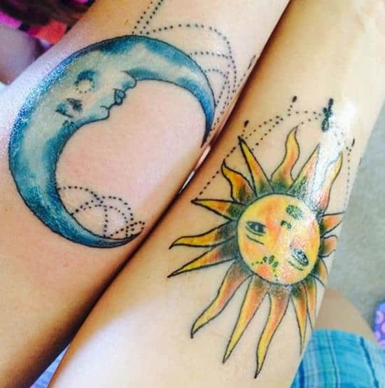 Mother Son Tattoos Designs Ideas And Meaning: 150 Adorable Mother Daughter Tattoos Ideas (April 2018