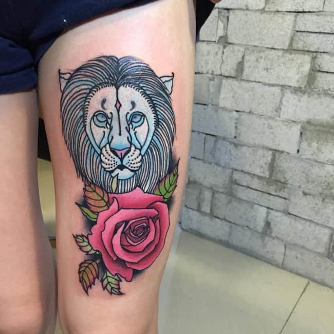 a44060056febd 150 Best Lion Tattoos Meanings (An Ultimate Guide, July 2019)