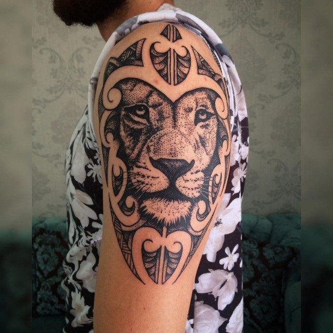 9f632c662 150 Best Lion Tattoos Meanings (An Ultimate Guide, July 2019)