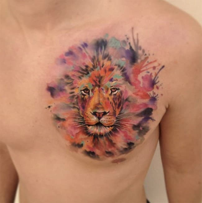 150 realistic lion tattoos and meanings may 2018. Black Bedroom Furniture Sets. Home Design Ideas