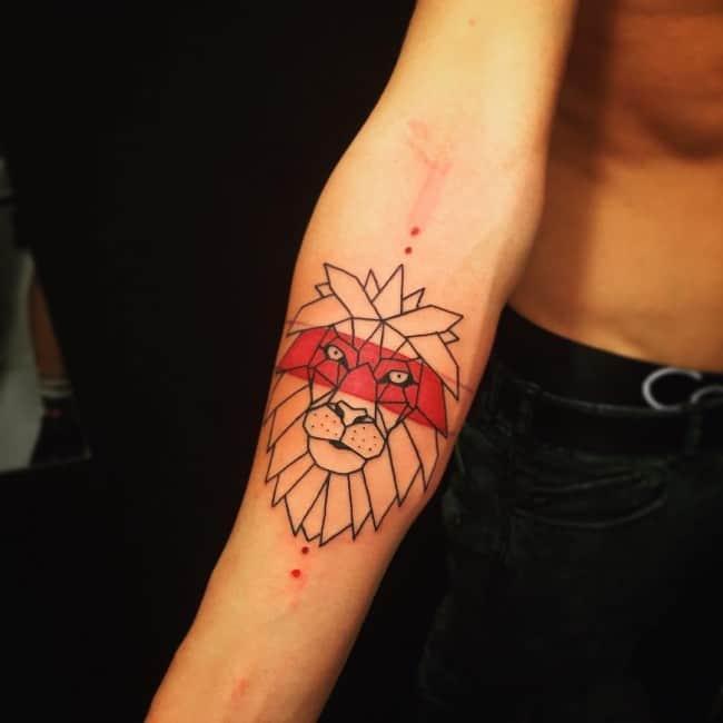 lion tattoo