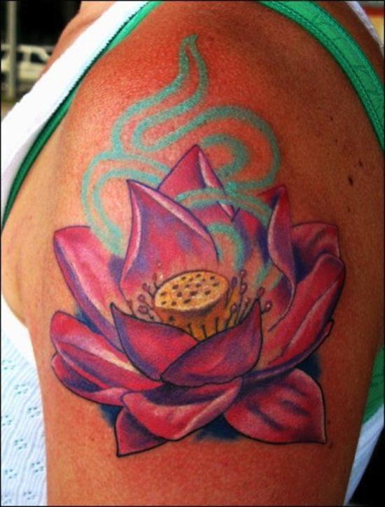 lotus-flower-tattoo-pink