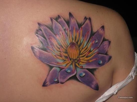 lotus-flower-tattoo-purple