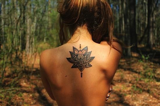lotus-flower-tattoo-tribal