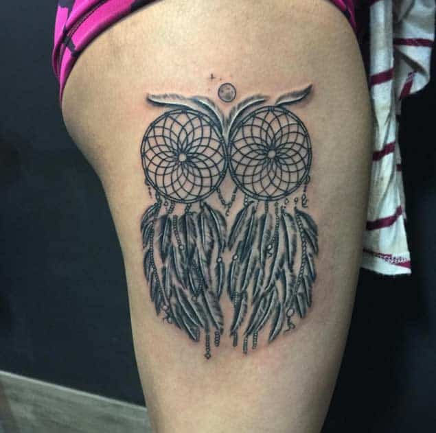 Names That Mean Dream Catcher 40 Most Popular Dreamcatcher Tattoos And Meanings April 40 5