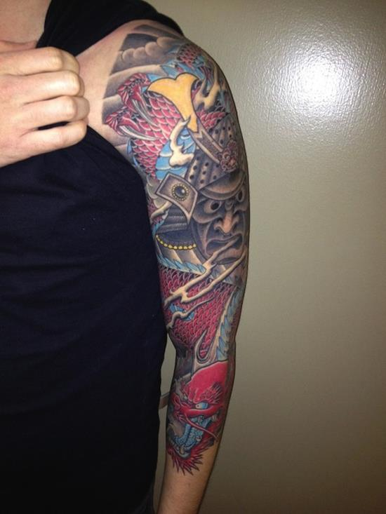 Tattoo Design Sleeve: 200 Incredible Sleeve Tattoo Ideas (Ultimate Guide, July 2020