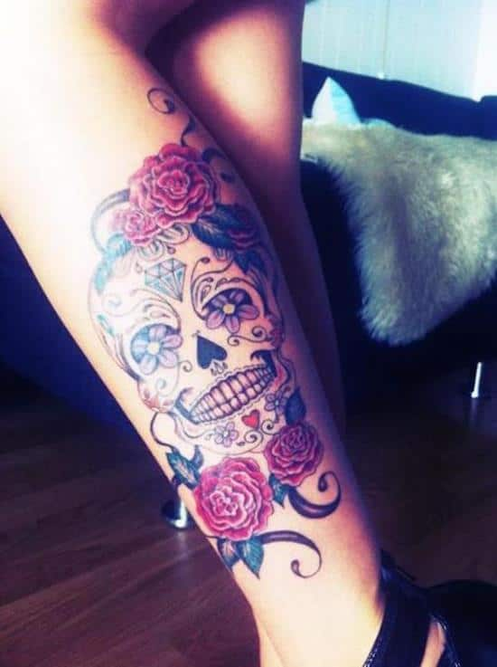 sugar-skull-tattoos-151