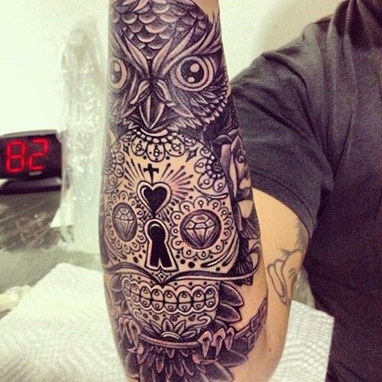 sugar-skull-tattoos-27