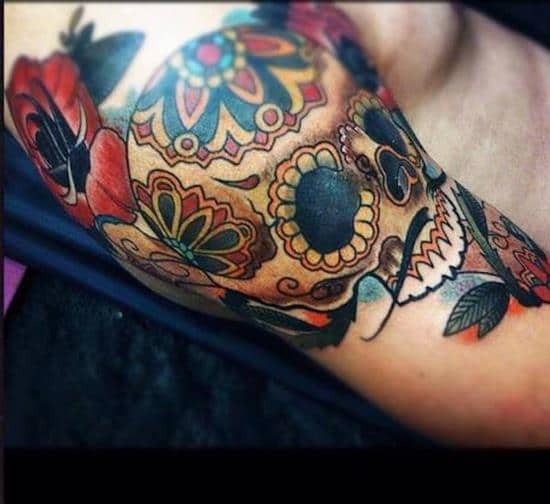 sugar-skull-tattoos-35