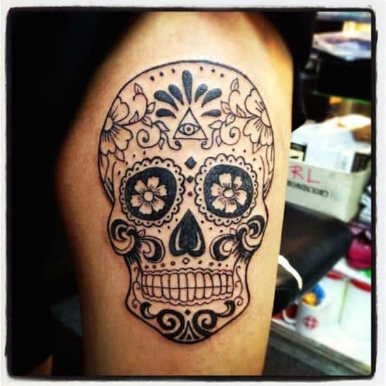 sugar-skull-tattoos-51