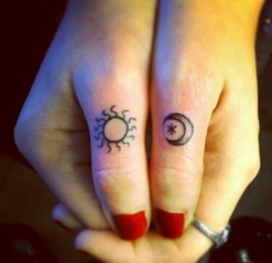 sun tattoos designs ideas 32