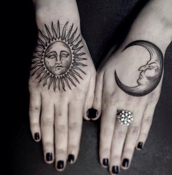 sun tattoos designs ideas 4