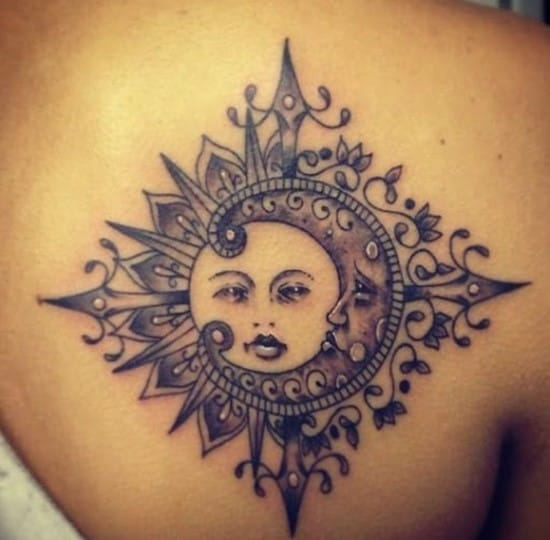 sun tattoos designs ideas