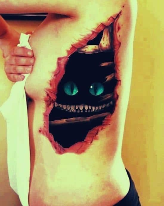 tattoo-3d-cheshire-cat