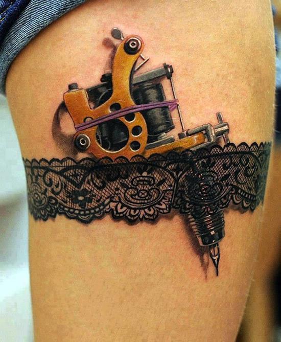 tattoo-3d-garter