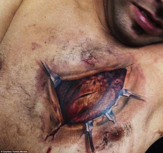 tattoo-3d-heart